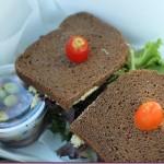 infusion tea sandwich