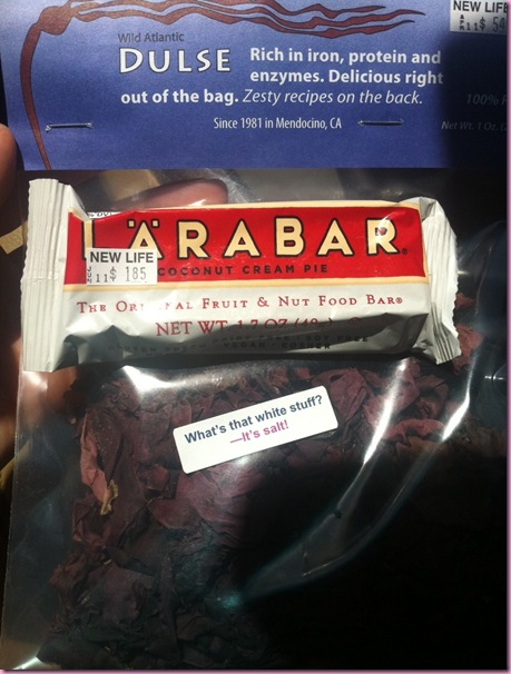 larabar and dulse
