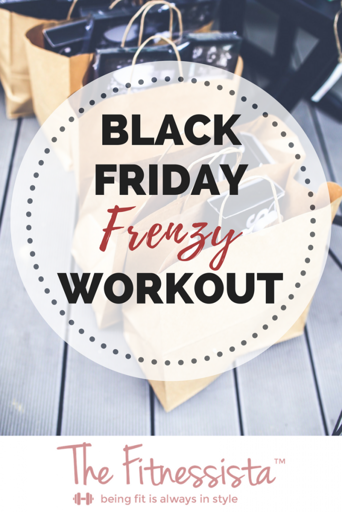 30-minute killer superset workout! Here's a Black Friday workout to help you beat the frenzy of the day! Sneak in this superset workout next time you're short on strength-training time. fitnessista.com #blackfriday #blackfridayworkout #supersetworkout #quickworkout