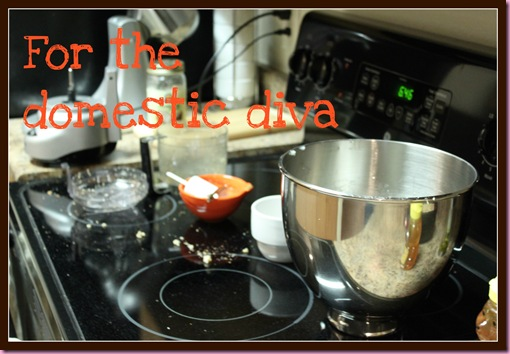 for the domestic diva