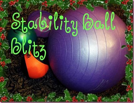 stability ball blitz