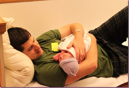 tom and baby