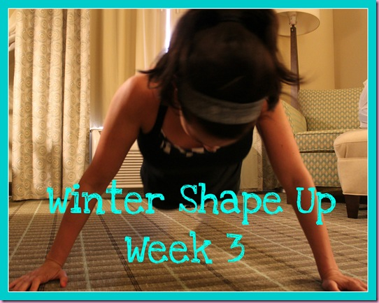 winter shape up 3