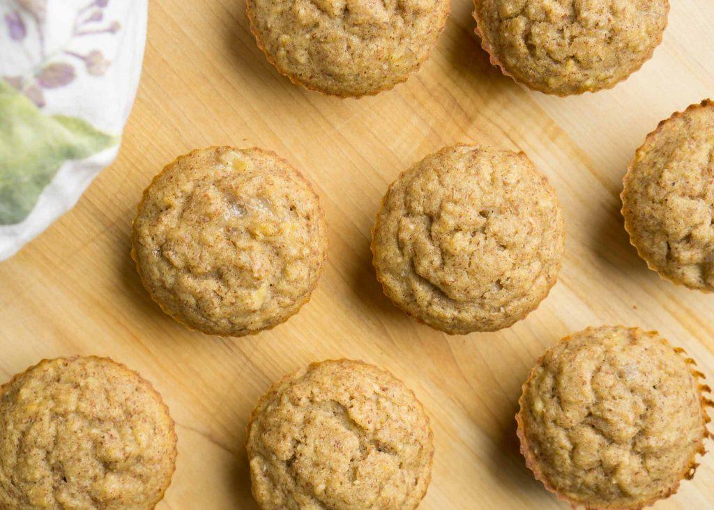 gluten-free banana almond muffins