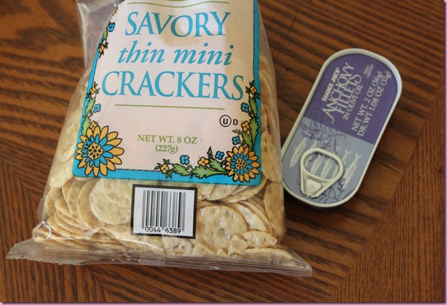 crackers and anchovies2