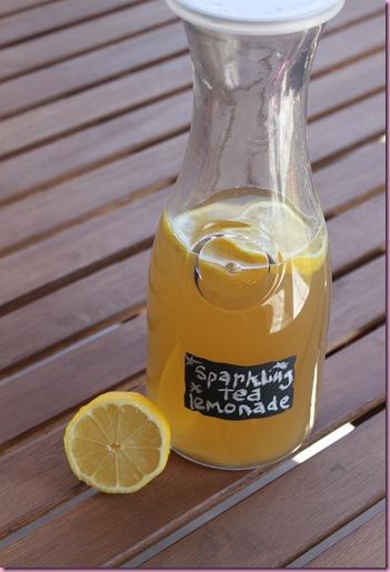 sparkling tea lemonade
