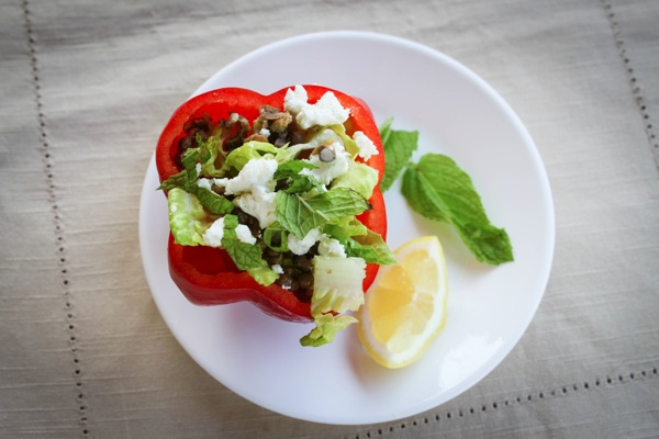 Red pepper bowl 2
