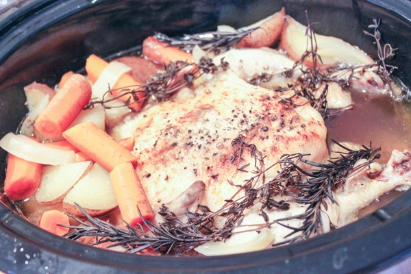 Slow cooker chicken 2