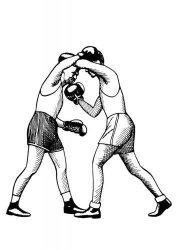 Boxing uppercut t12963