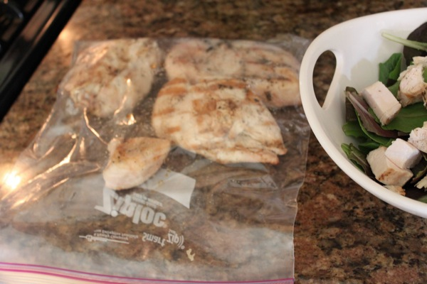 Chicken breast food prep to eat clean on-the-go