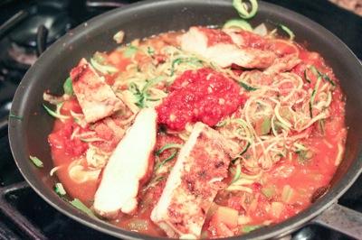 Chicken zucchini 2
