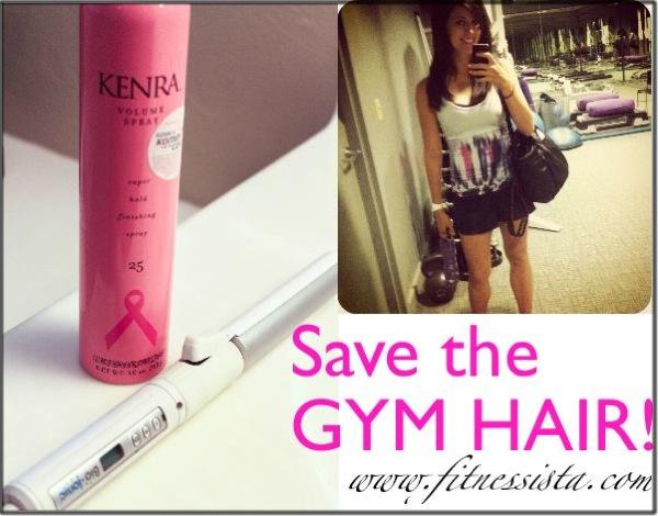 Gym hair4