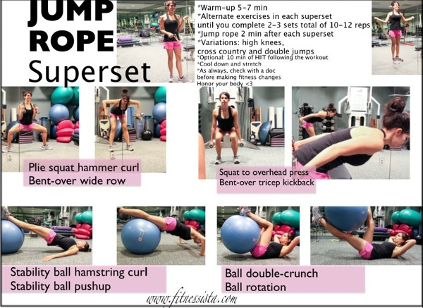 Jump rope superset