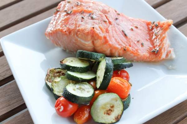 Honey Lavender Salmon