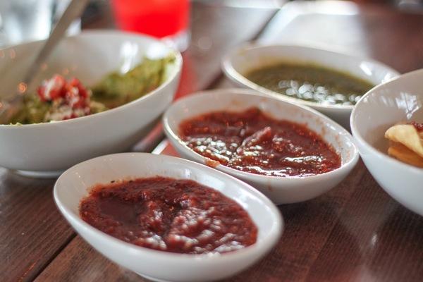 Salsa and guac