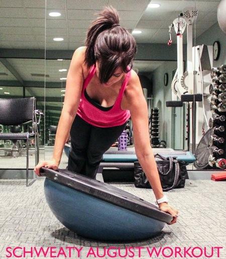 Schweaty august workout