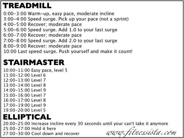 Triple Threat Cardio Workout