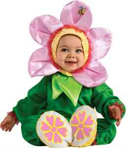 Baby pink pansy flower costume  sc 1 st  The Fitnessista & Halloween Costumes with a Baby - The Fitnessista