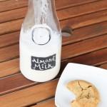 Homemade Almond Milk + flavor variations