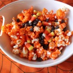 candy corn popcorn recipe