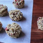 quinoa trail mix muffins