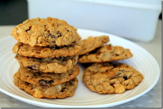 Loaded Oatmeal Peanut Butter Cookies 4