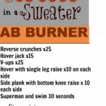 Six Pack in a Sweater Ab Burner