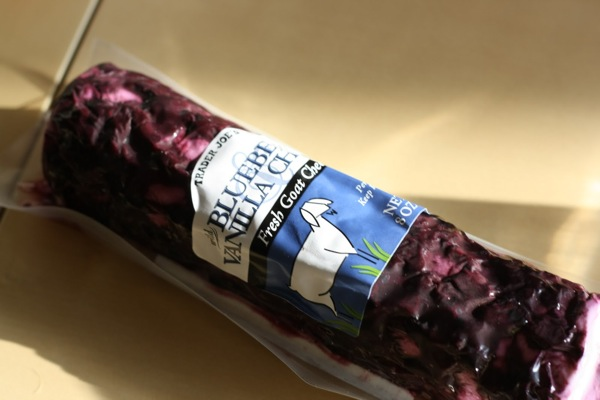 Blueberry chevre