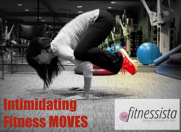 Intimidating fitness moves