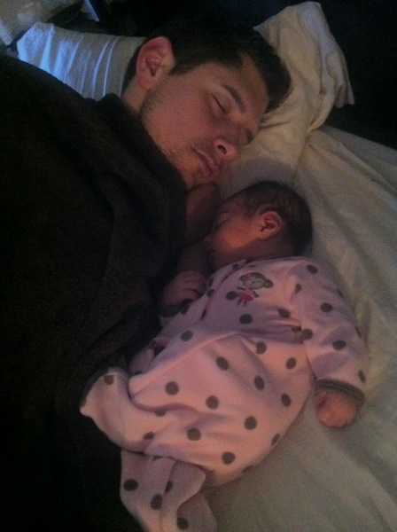 Livi and dad