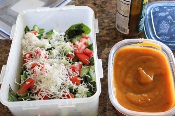 Soup and salad 2