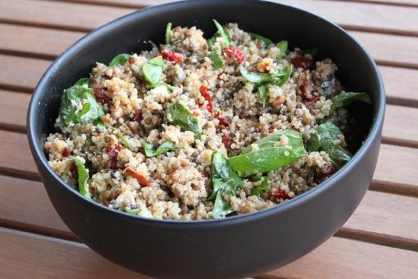 Quinoalentilsalad