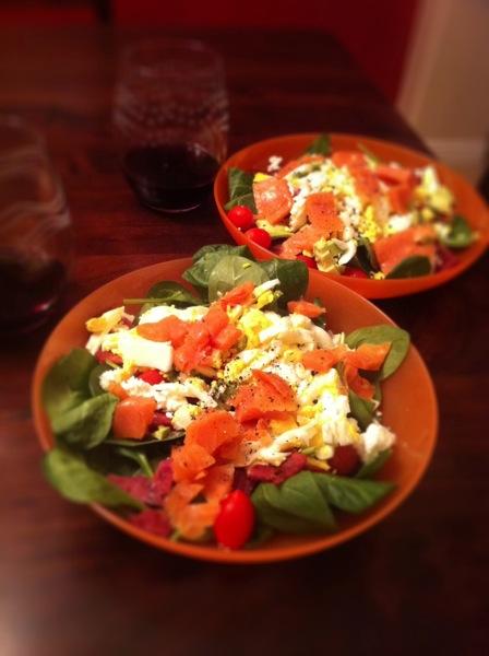 Salmonsalad