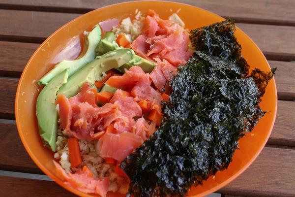Sushi bowl  1 of 1
