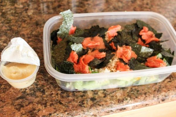 Sushi salad  1 of 1