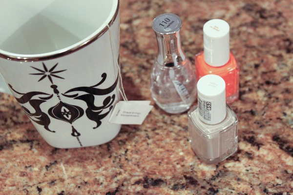 Tea and nails  1 of 1