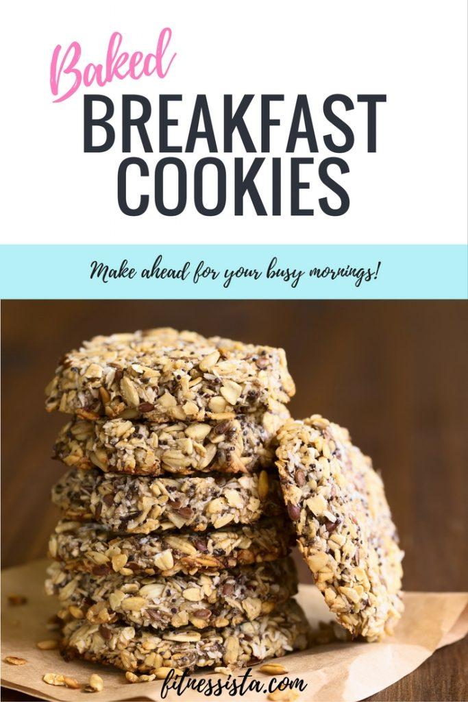Baked Breakfast Cookies
