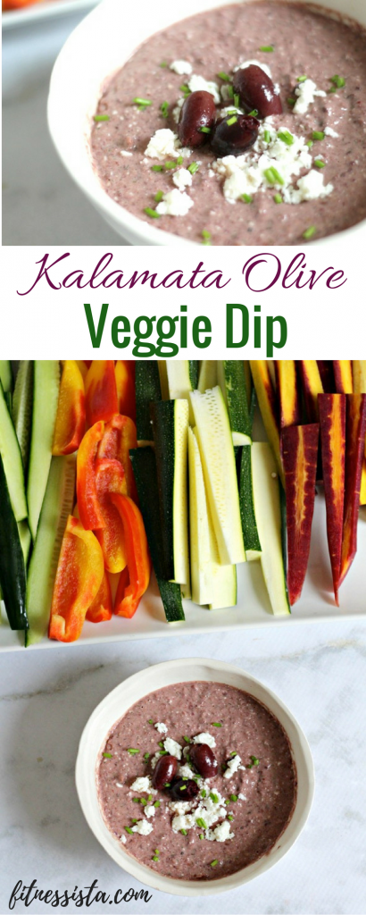 True Food Kitchen Crudite kalamata olive dip (true food copycat dish) - the fitnessista