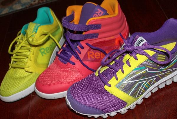 Reebok shoes  1 of 1 2