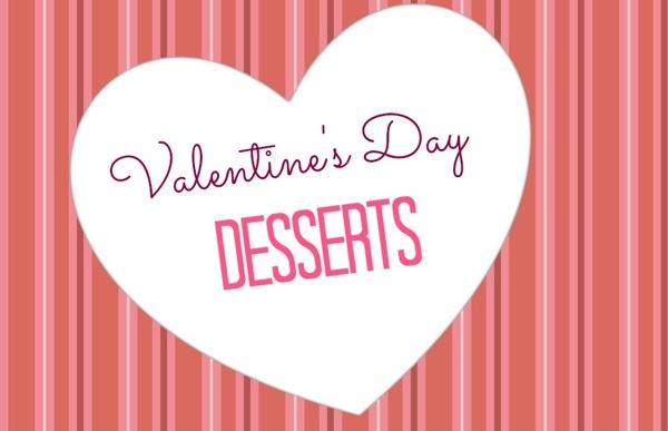 Vday desserts