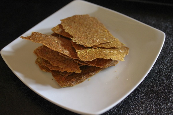 raw jalapeño crackers