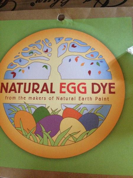 Egg dye