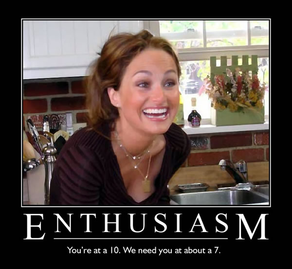 Giada Enthusiasm