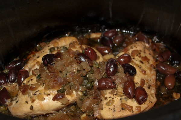 Slow cooker chicken  1 of 1