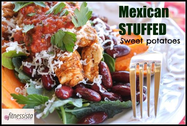 Mexican Stuffed Sweet Potato Stuffed Sp