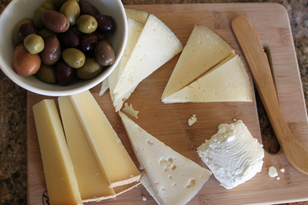 Cheese and olives  1 of 1