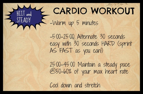 Hiit and steady