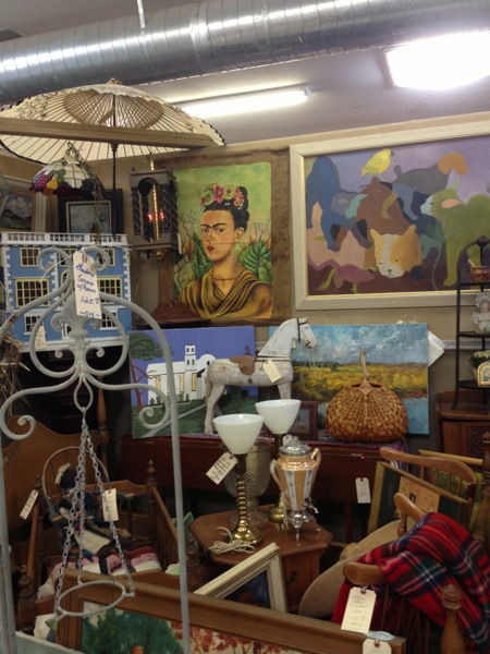Antique shopping