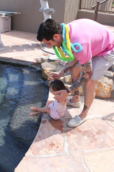 Livi splashing  1 of 1