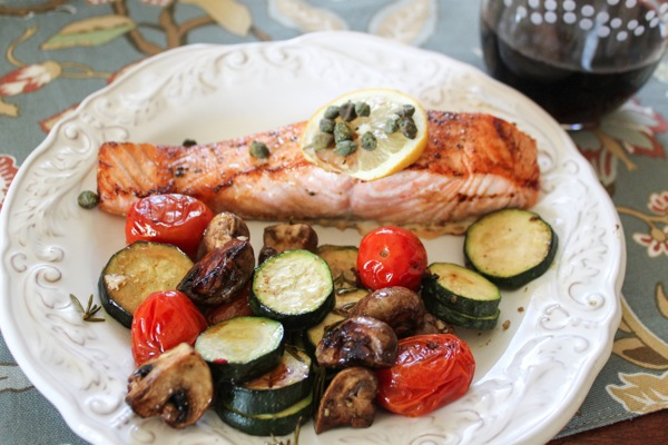Salmon and veg  1 of 1